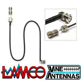Vine Antenna RST-705-BNC | Fly Lead | LAMCO Barnsley