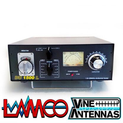 Vine Antenna DU-1500L | 1.5Kw Manual ATU | LAMCO Barnsley