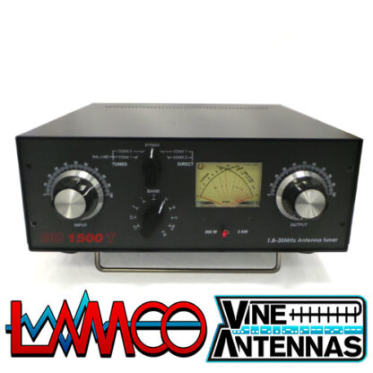 Vine Antenna DU-1500T | 1.5Kw Manual ATU | LAMCO Barnsley