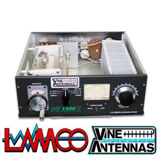 Vine Antenna DU-1500T Differential | 1.5Kw Manual ATU | LAMCO Barnsley