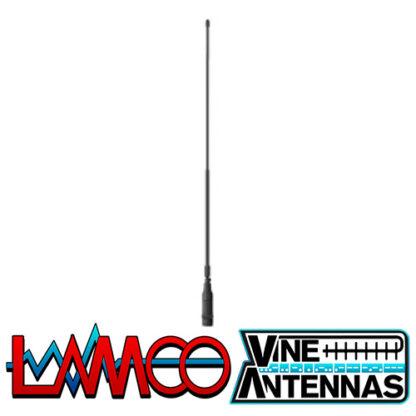 Vine Antenna RST-LH-100SR | Reverse SMA VHF UHF Antenna | LAMCO Barnsley