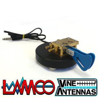 Vine Antenna RST-TP2 | Twin Paddle Magnetic Morse Key | LAMCO Barnsley