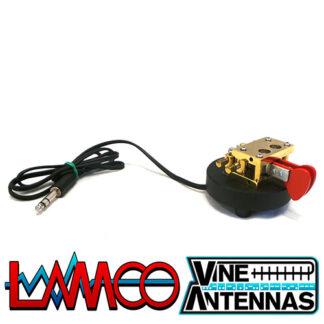 Vine Antenna RST-TP3 | Twin Paddle Magnetic Morse Key | LAMCO Barnsley