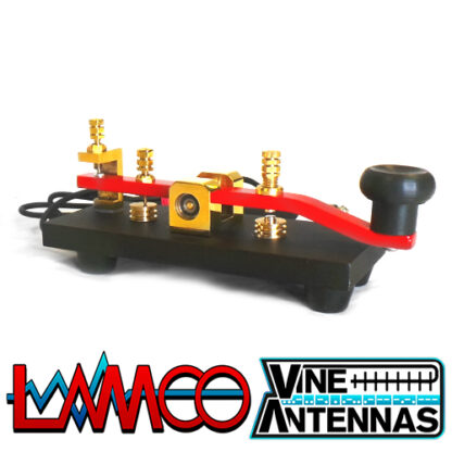 Vine Antenna RST-TP5 | Straight Magnetic Morse Key | LAMCO Barnsley
