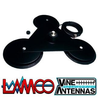 Vine Antennas RST-Trimag HD | SO239 Heavy Duty Mag Mount | LAMCO Barnsley
